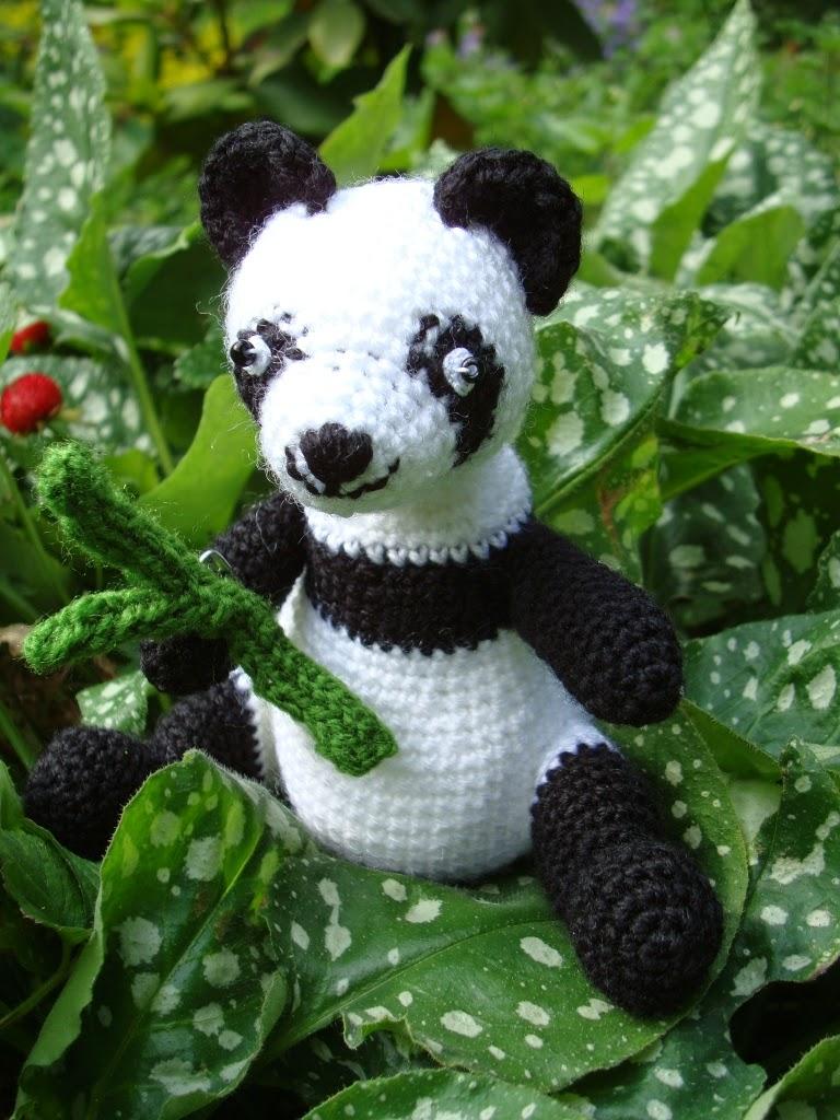 Maskotka miś Panda