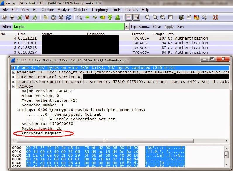 Qfx blog configure qfabric with tacacs authentication - Wireshark filter destination port ...