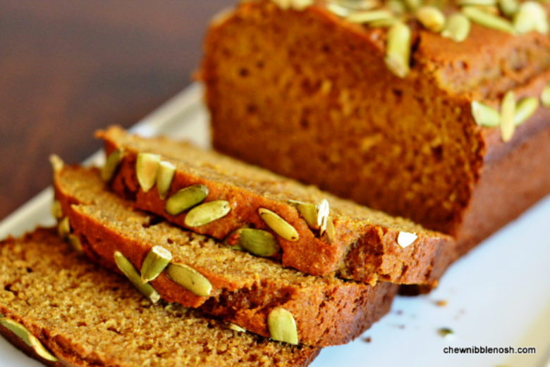 The Bestest Recipes Online: Olive Oil Pumpkin Bread