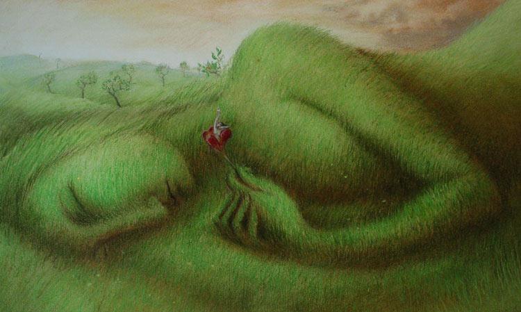 Encantadoras ilustraciones de la naturaleza de Virginia Lee