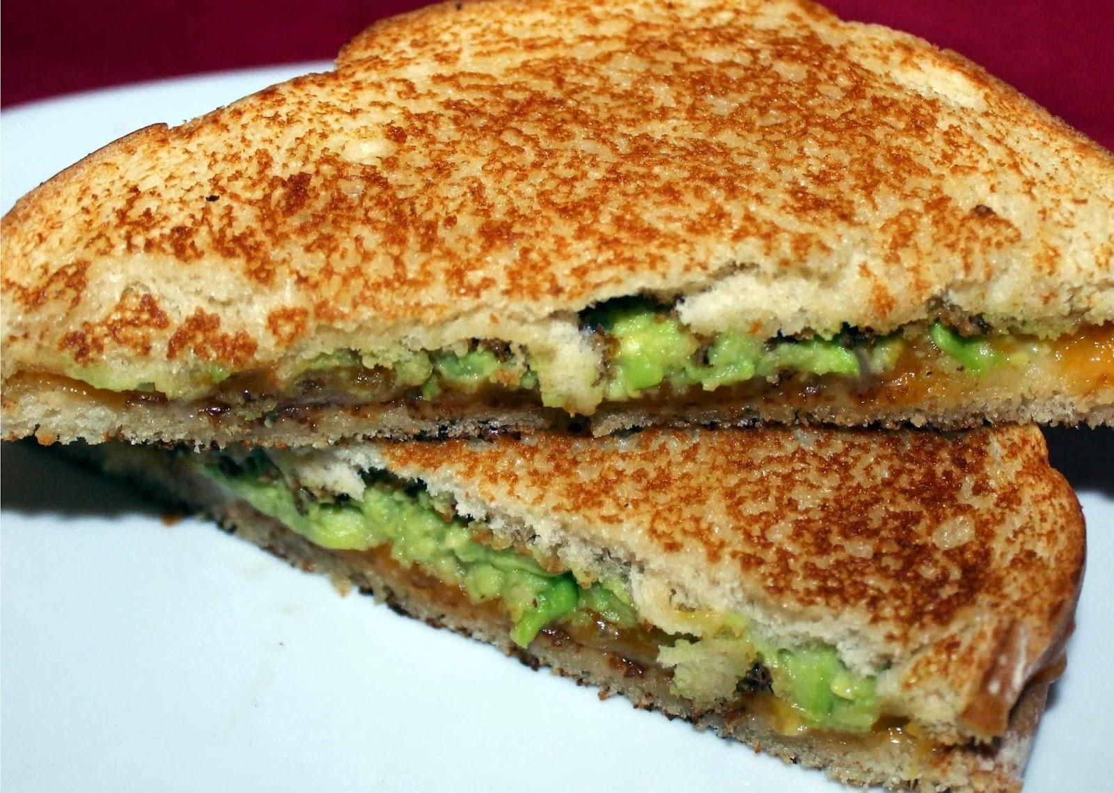 avocado with toast bread