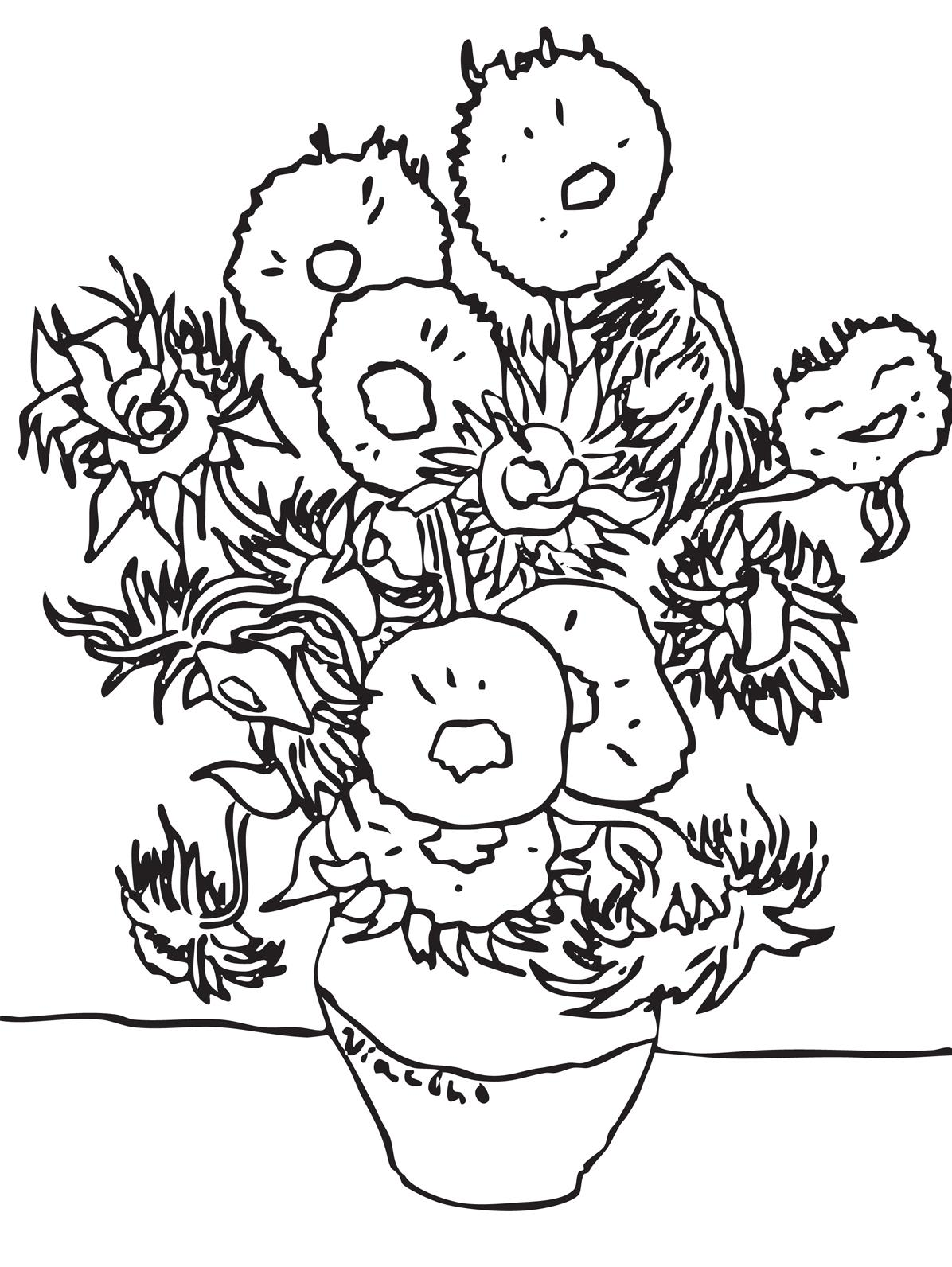 impressionist coloring pages laura williams