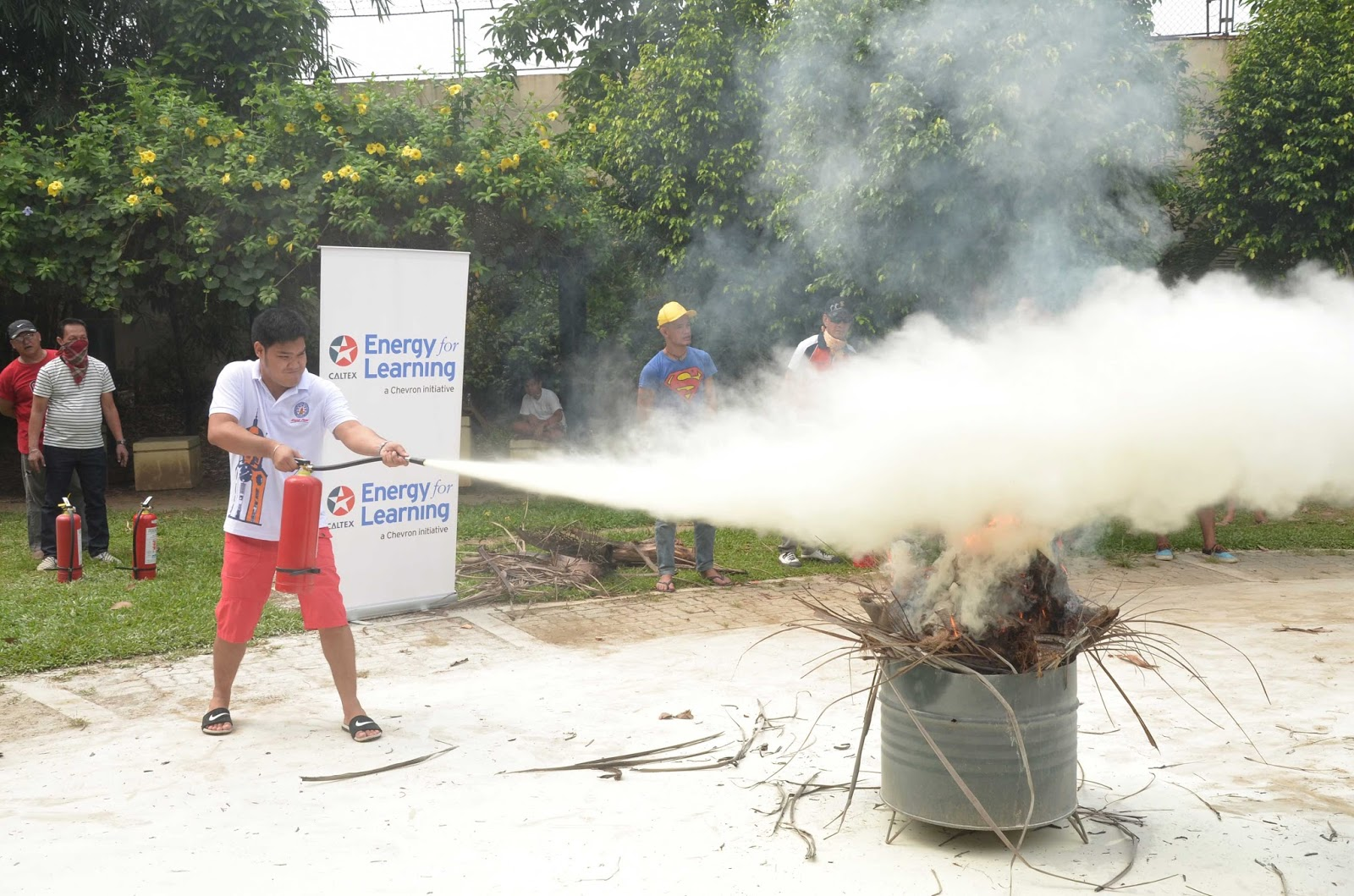 Pandacan residents train for safe firefighting self-sufficiency
