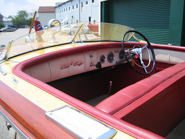 After - 19&#39; Chris Craft Capri, Replaced Steering