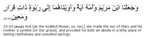 (Al Surah Al-Mu'minun 23:51)