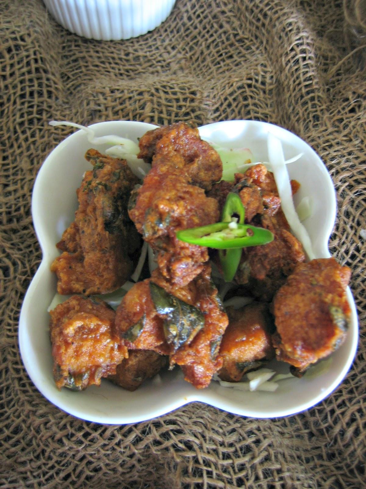 restaurant style chicken65 2