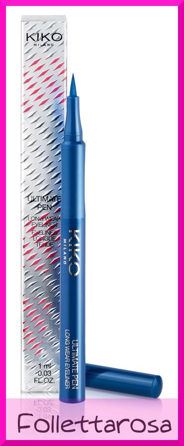 eyeliner in penna colorati kiko