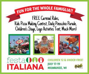 Festa Italiana July 17 - July 19