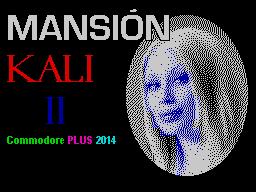 Mansion Kali II ZX Spectrum
