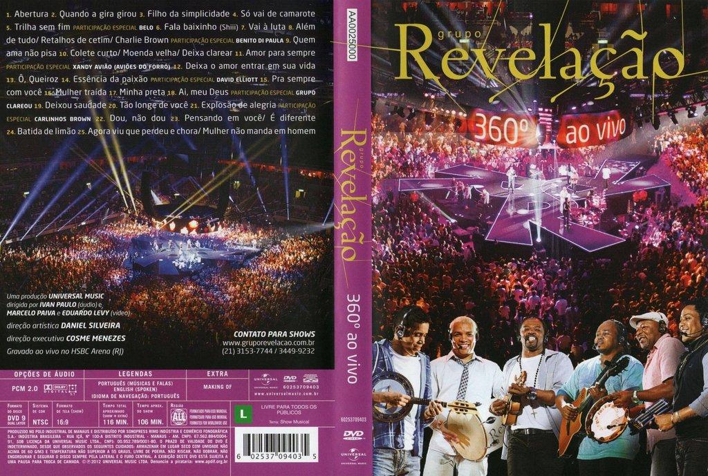 DVD%2BRevela%25C3%25A7%25C3%25A3o%2B %2B360%25C2%25B0%2B%25282012%2529 DVD Revelação   360° Ao Vivo AVI DVD R (2012)