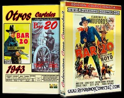 Bar 20 | 1943, cover, carátula, dvd
