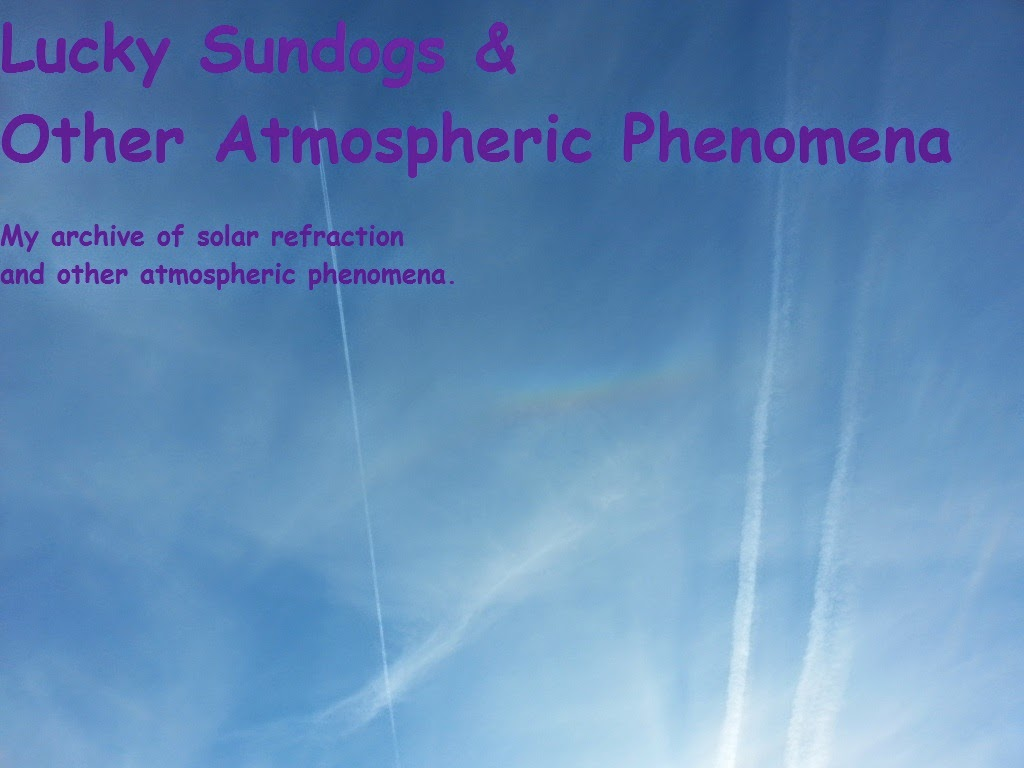Lucky Sundogs & Other Atmospheric Phenomena