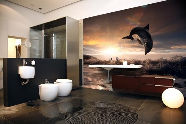Papel pintado fotomurales animales - Fotomurales para banos ...