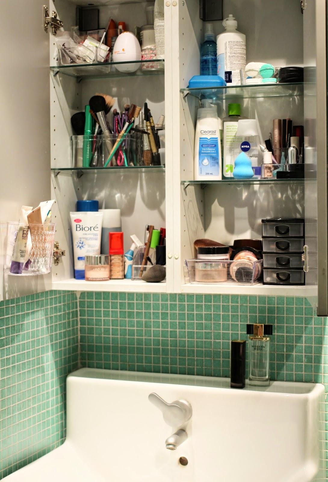 makeup storage, organiser son maquillage,