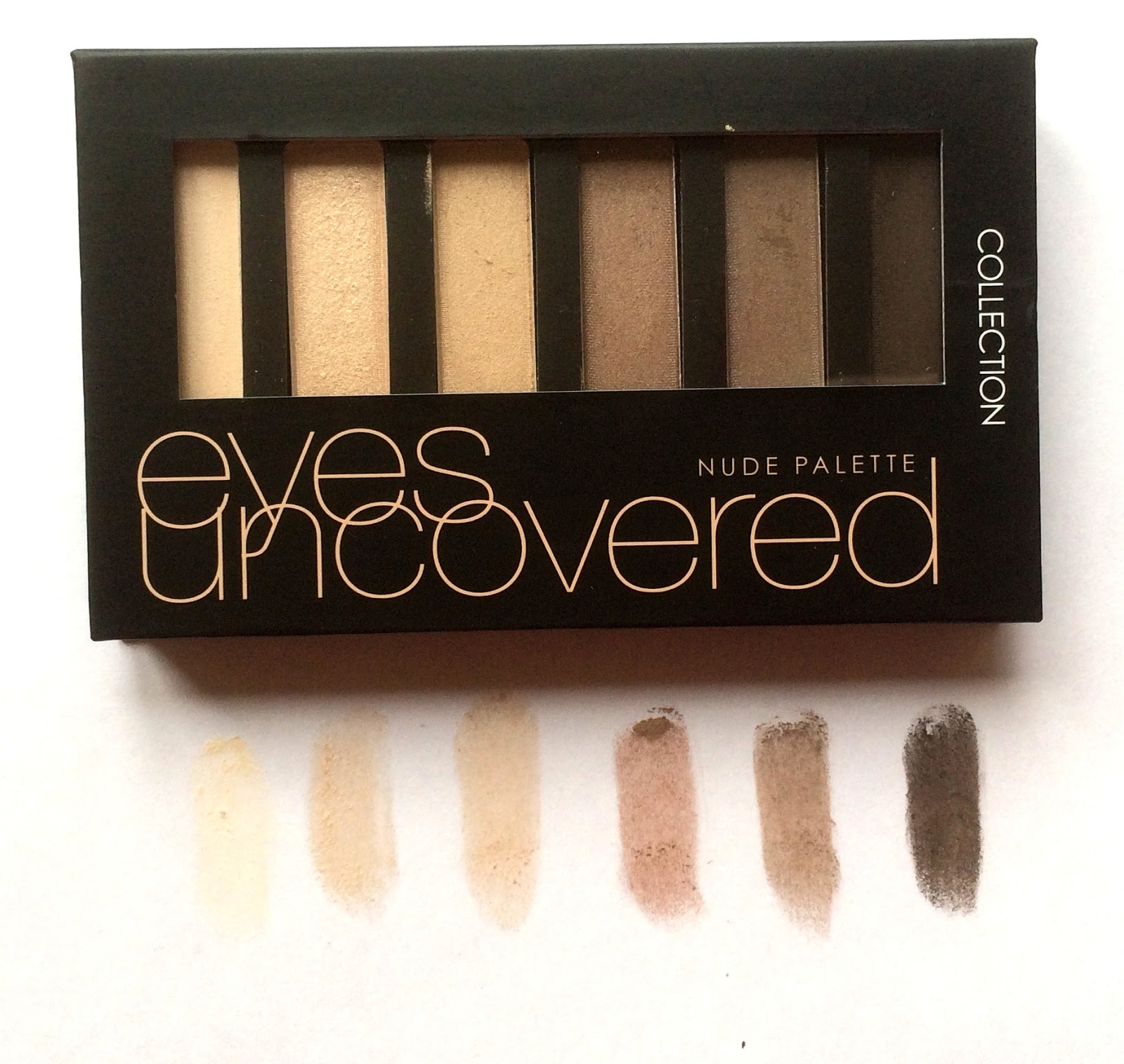 collection nude palette review
