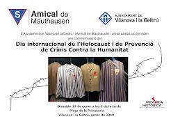 DIA DE L'HOLOCAUST 2018