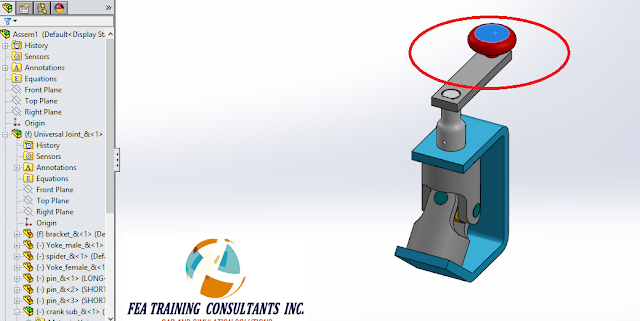 assembly mechanism solidworks