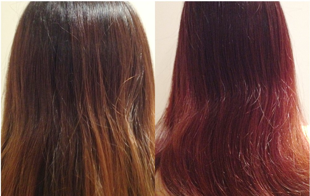 Cherry Cola Red Hair Color | Dark Brown Hairs