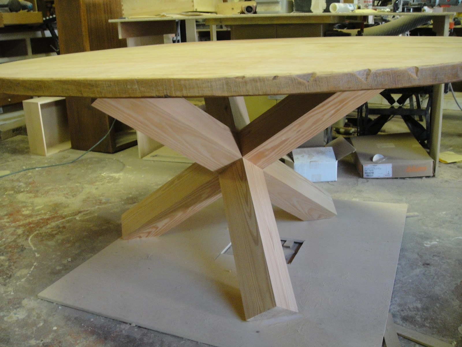 Beau Custom Table Legs Unique Handcrafted Craftsmanship