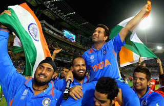 Sachin+Tendulkar God of cricket World Cup 2011