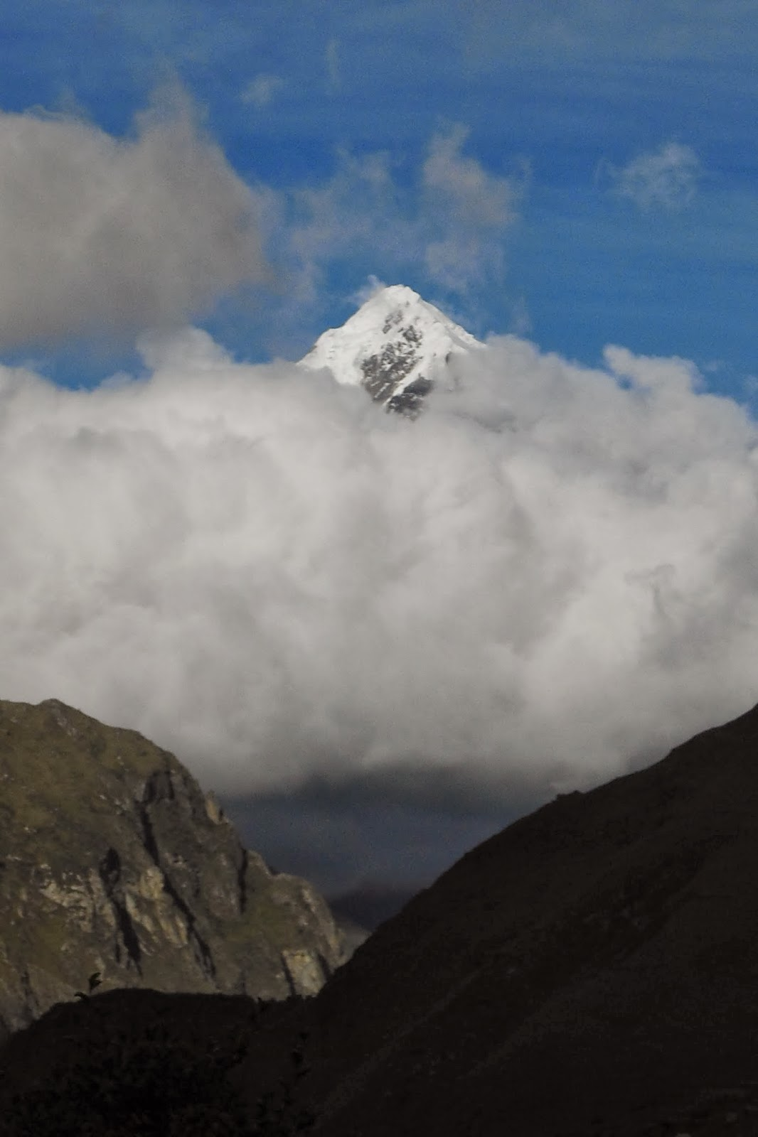 The majestic Andes -- they would make any person want to travel.