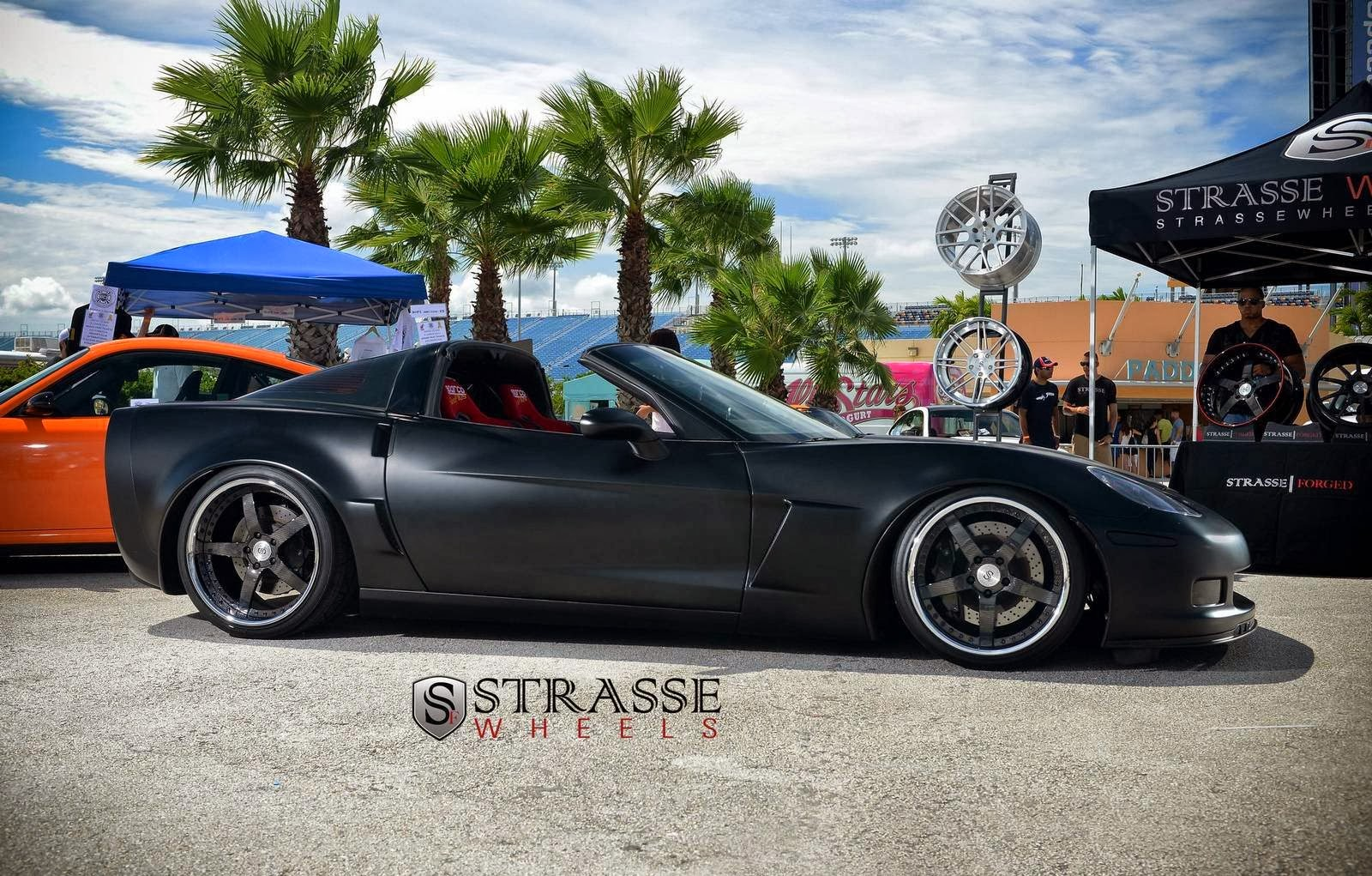 Modified Cars 1100hp Lowered Satin Black Corvette