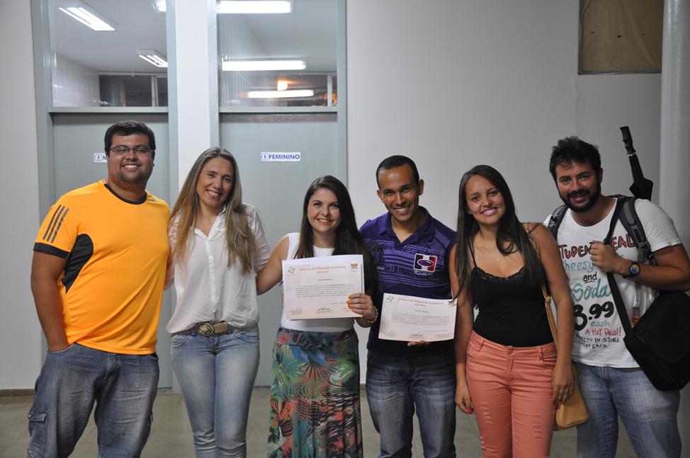 Premiação do Trabalho do Bioclima no SIA 2014