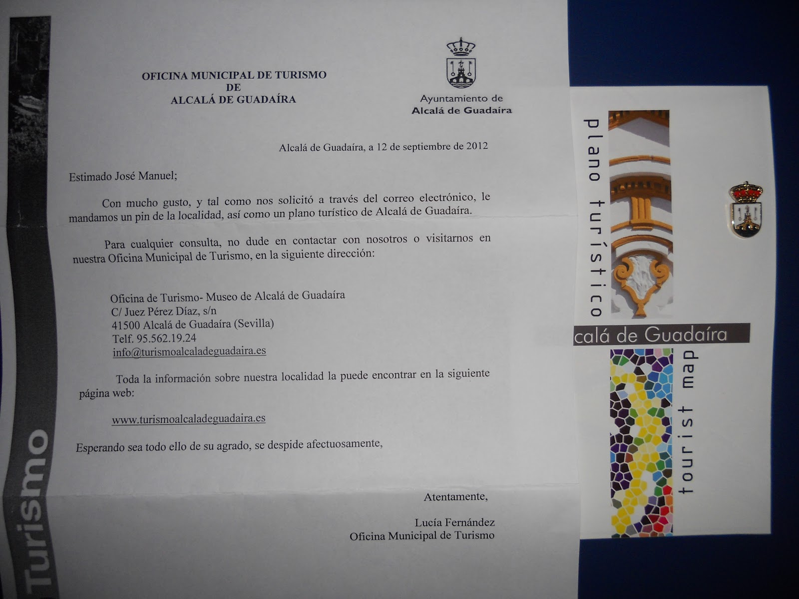 Pinspalomo pueblos de sevilla andalucia for Oficina de turismo sevilla