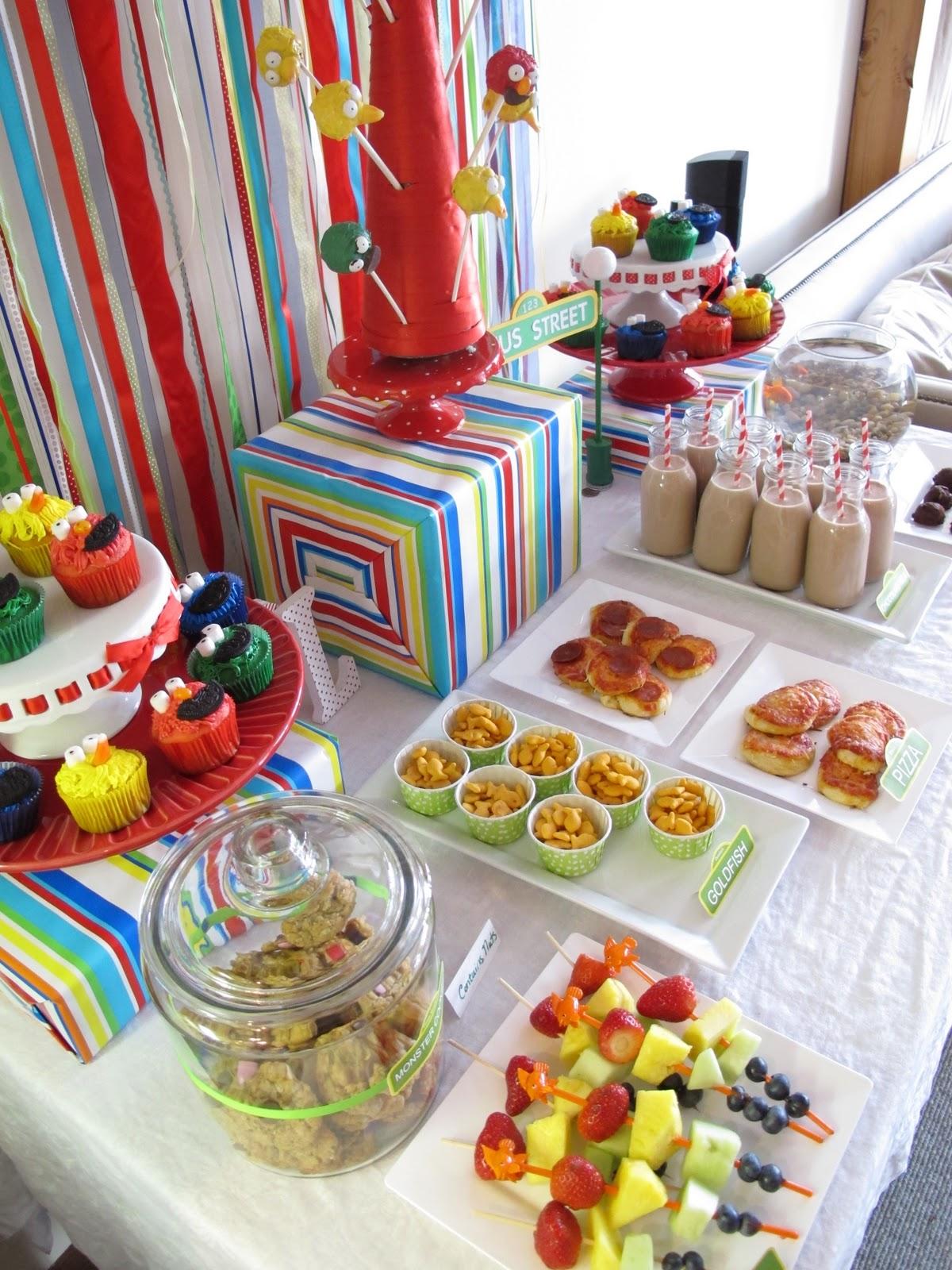 Decoraci n de Fiestas Infantiles de Plaza Sesamo Sesame Street