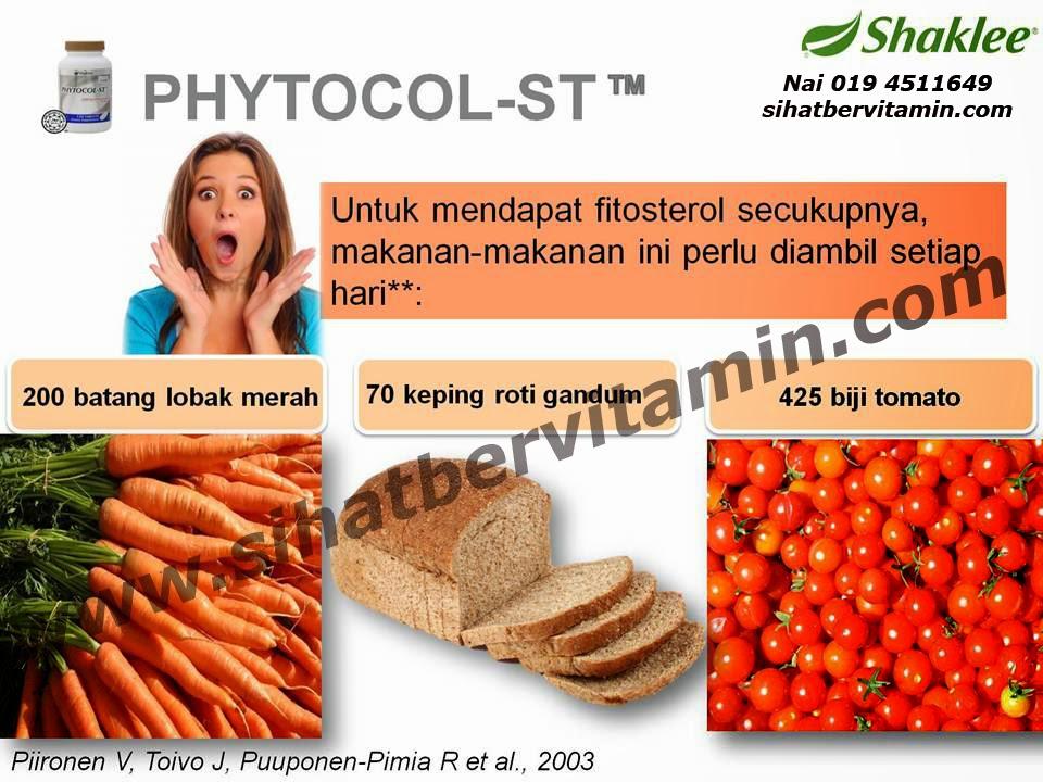 PHYTOCOL ST - Atasi Masalah Kolesterol Anda Secara Semula Jadi dengan FITOSTEROL