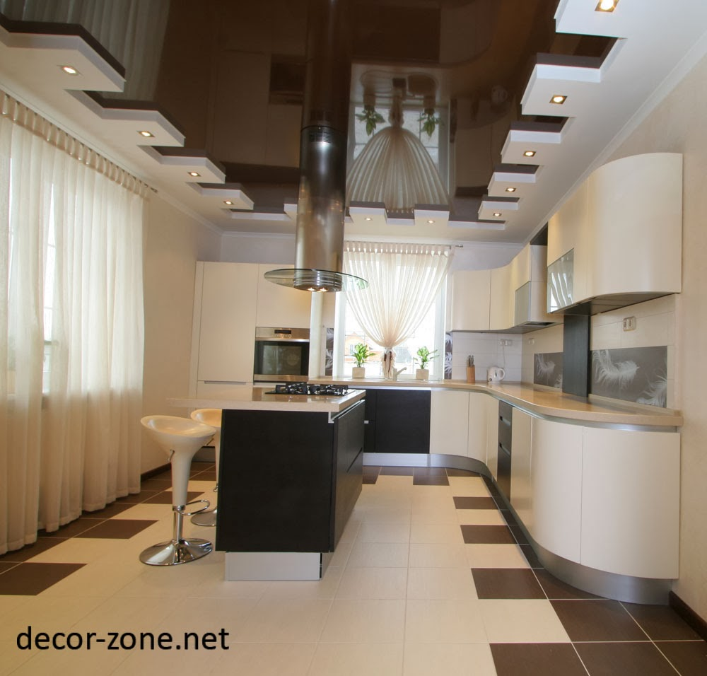 kitchen ceiling designs ideas, photos and types | Decor Zone