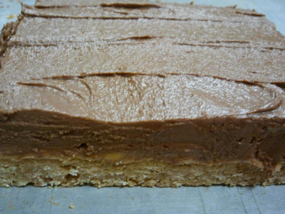 ... Chicks : Shannon's Peanut Butter Bar and Chocolate Frosting Recipe