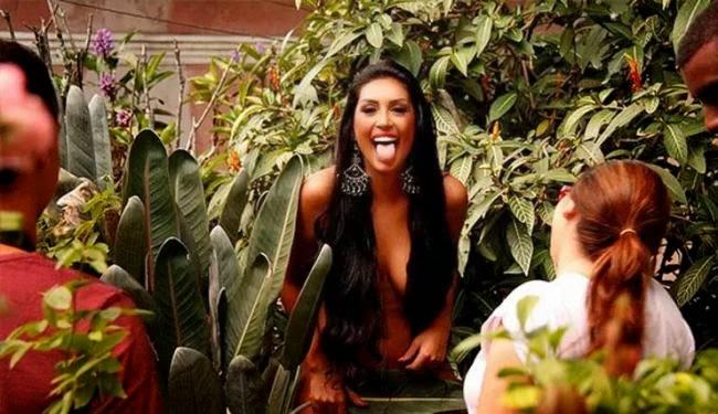 Amanda já fez ensaio sensual para o site Paparazzo (Foto: Reprodução / Mariana Gibara / Paparazzo)