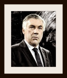 Translations of Carlo Michelangelo Ancelotti: The former manager of Real Madrid Club de Fútbol.