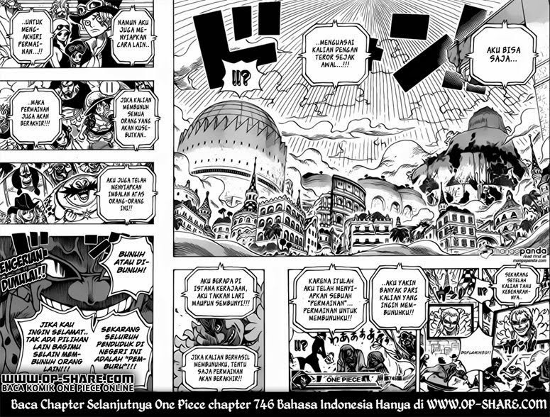 Komik One Piece Chapter 745 Bahasa Indonesia