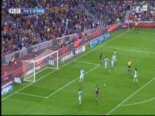 اهداف مباراة برشلونة 3-0 الدورى الاسبانى 18-10-2014 Barcelona Vs Ibar GOALS