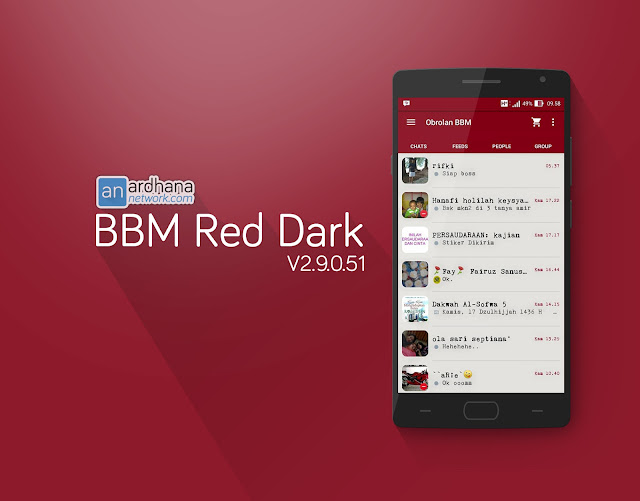 BBM Red Dark