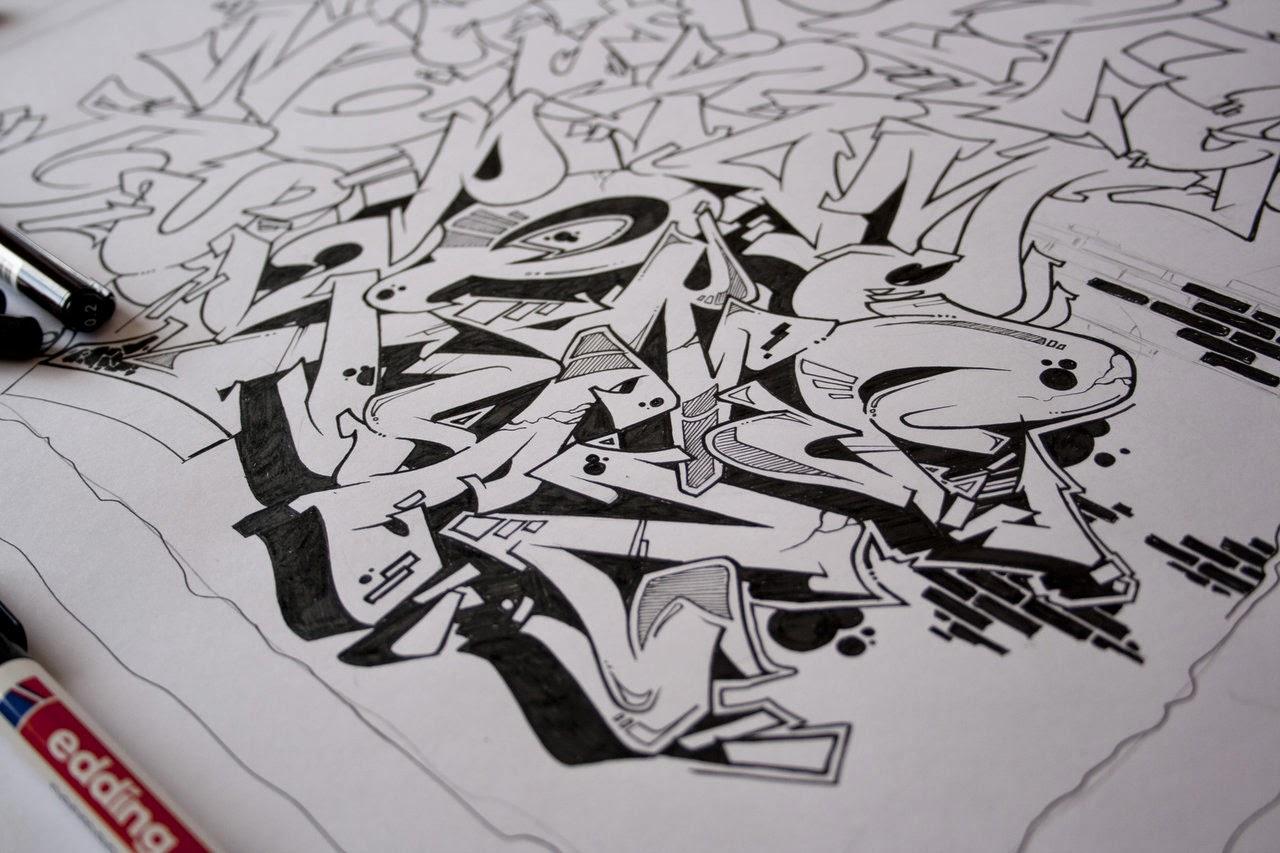 Graffiti wall graffiti alphabet tumblr - Grafiti alpabet ...