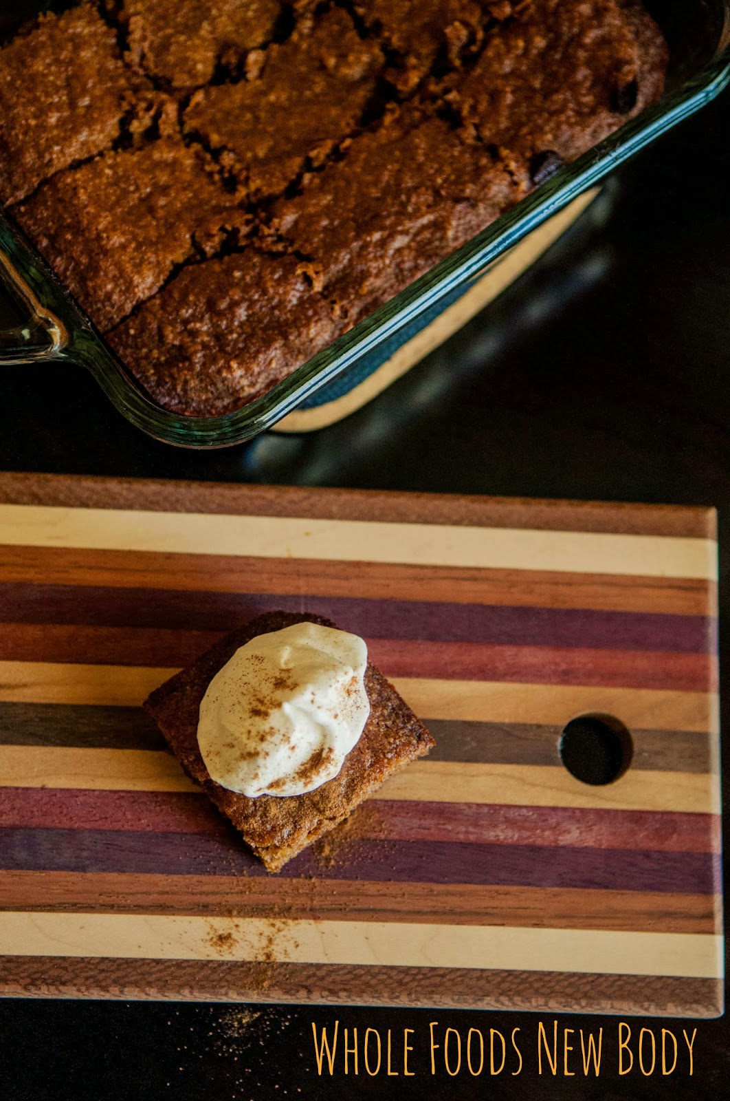 Whole Foods...New Body!: {Clean Eating Pumpkin Bars}