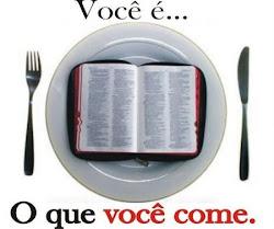 Nem só de pão viverá o homem, mas de toda palavra que sai da boca de Deus