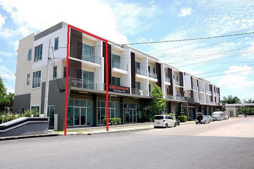 ตึกแถวหลังเมืองทองธานี