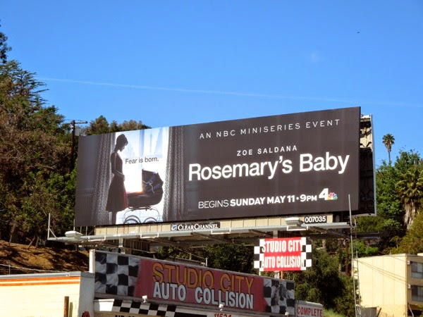 Rosemary's Baby TV billboard