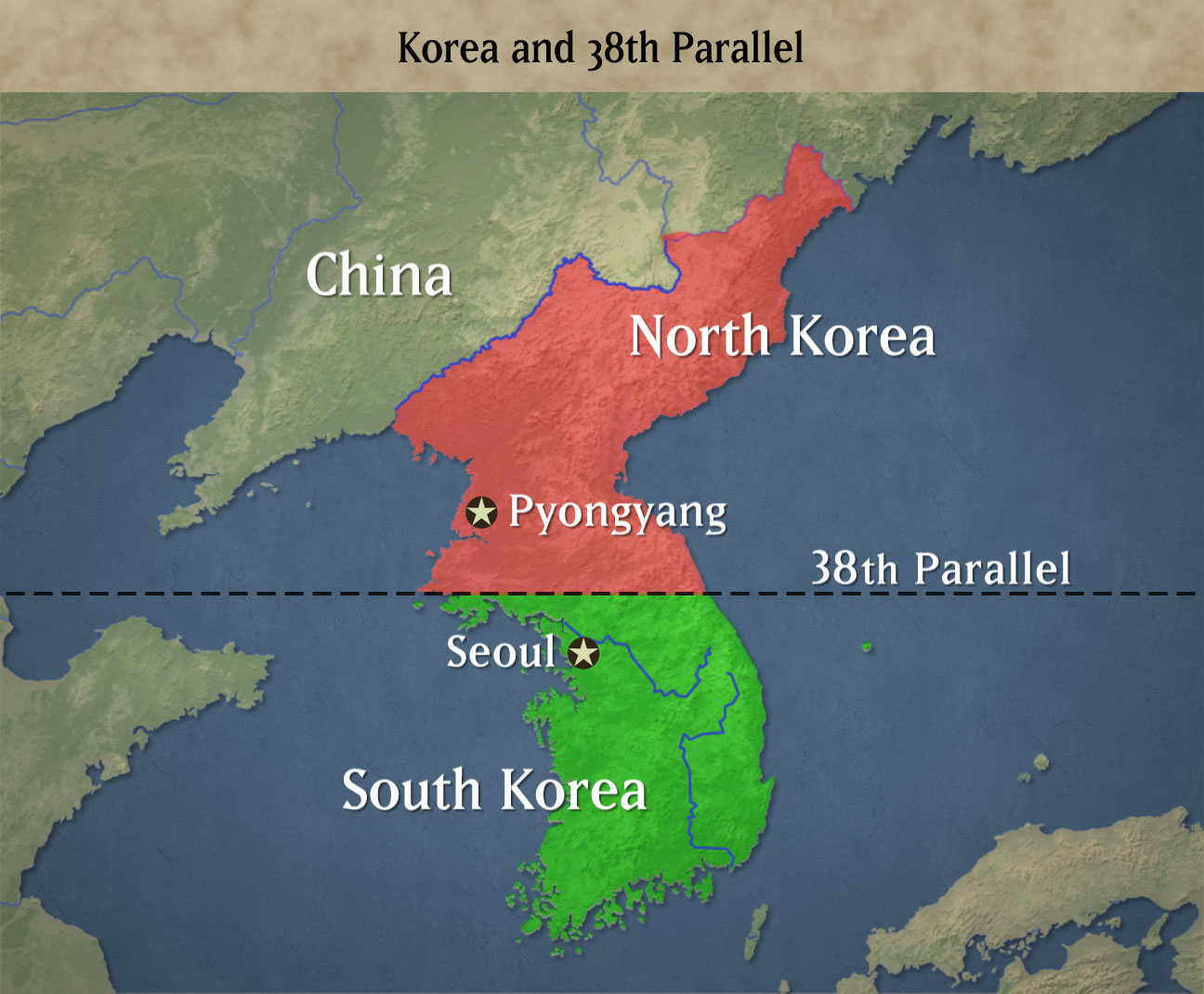 north korea and south korea South korea: geographical and historical treatment of south korea, including maps and statistics as well as a survey of its people, economy, and government.