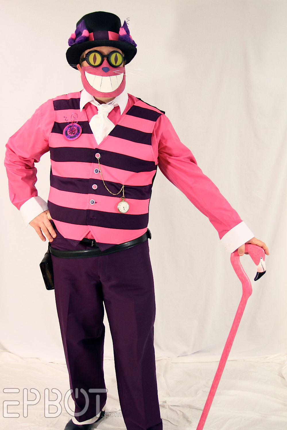 A Ste&unk Cheshire Cat Is Kinda Creepy : steampunk cat costume  - Germanpascual.Com
