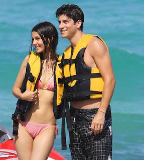 Victoria Justice with Boyfriend