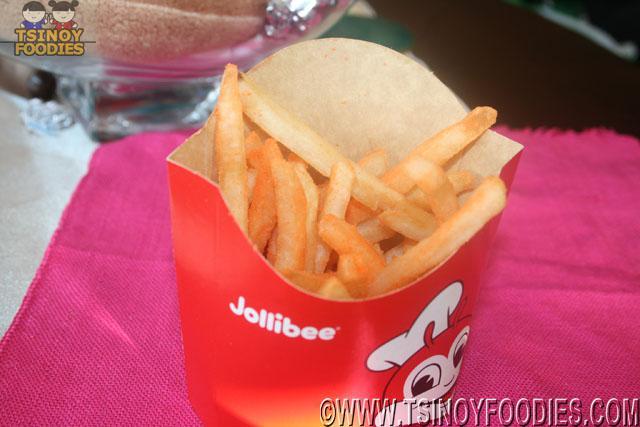 jollibee cheese flavored fries