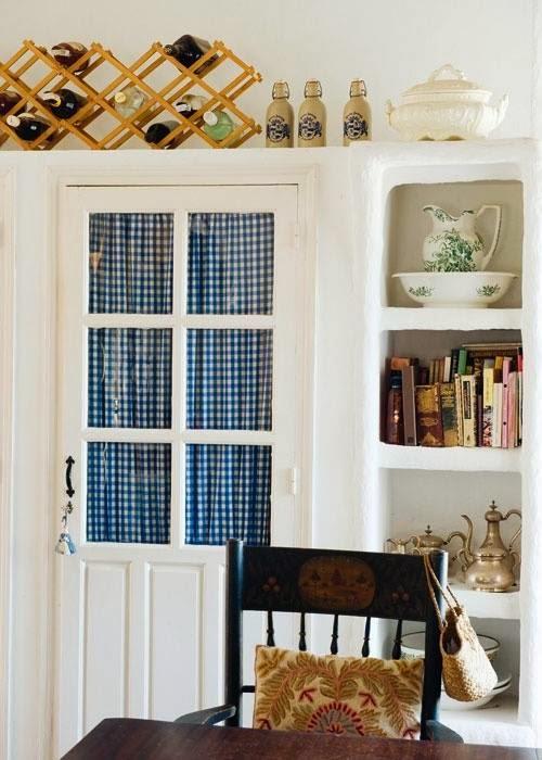 Cucine Con Un Tocco Di Colore : L appartamento al piano di sotto cucine country chic