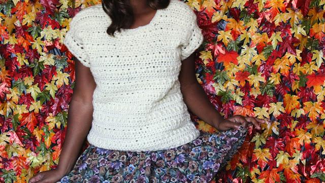 HandMade: The Clarity Crochet Sweater.
