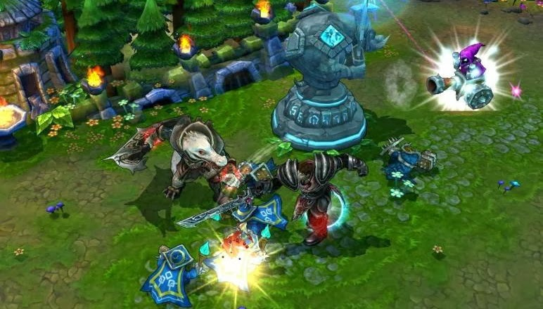 League of Legends canlı yayını