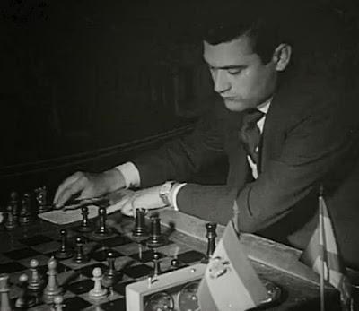 Partida Román Torán vs. Arturo Pomar en el II Torneo Internacional de Ajedrez Madrid 1957